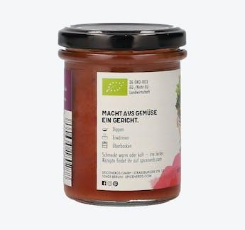 """BIO Sauce für Gemüse mit Roter Bete und Sauerkirsche """"Radical Radish"""""""