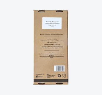 Glasstrohhalme für Smoothies 20 cm, 4er-Pack