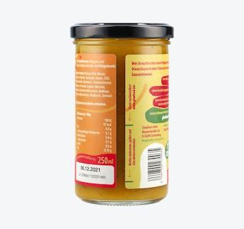 Würzige Mango Sauce, vegan
