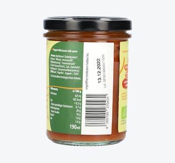 BIO Grillsauce süß-sauer
