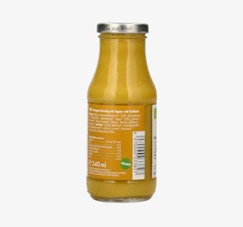 """BIO Salatdressing Orangen, Ingwer und Senf """"Juicy Lucy"""""""