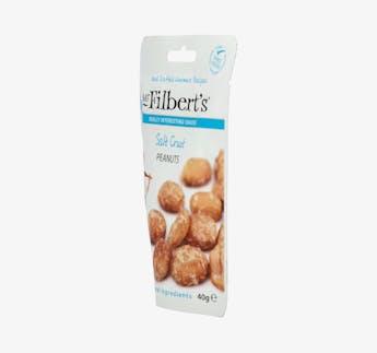Erdnüsse mit Salzkruste