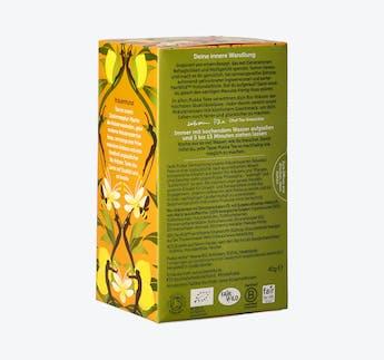 BIO Kräutertee mit Zitrone, Ingwer & Manuka Honig