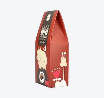 Milk Chocolate Hippos - Hazelnut Truffle