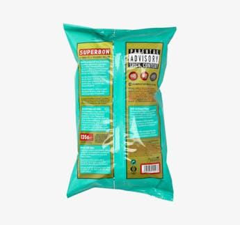 Kartoffelchips mit Paprika, vegan & glutenfrei