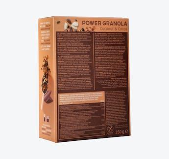 BIO Power Granola Kokosnuss & Kakao
