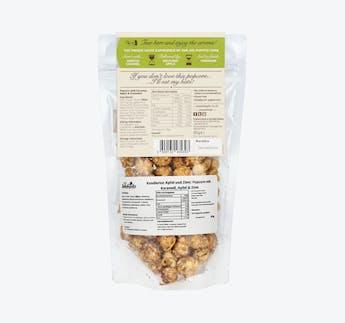 Popcorn mit Toffee, Apfel und Zimt