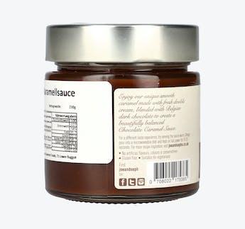 Karamellcreme mit Schokolade
