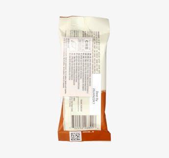Energieriegel mit Schokoladen Haselnussbutter Füllung