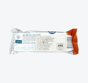 Proteinriegel mit Schokolade und Erdnussbutter
