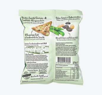 Bean Salt Snack Mini