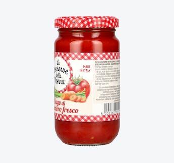 Tomatensauce mit Gemüse