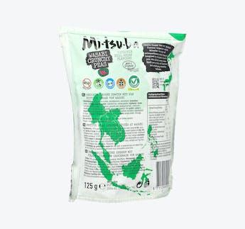 Geröstete Erbsen mit Wasabi