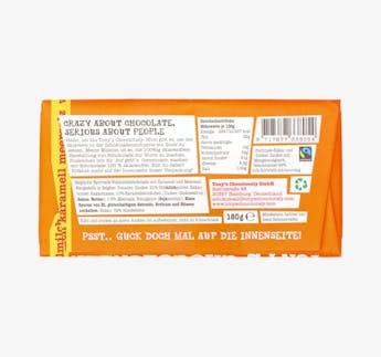 Belgische Vollmilchschokolade - Karamell & Meersalz