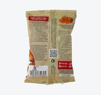 Nuss Snack mit Ahornsirup und Chili