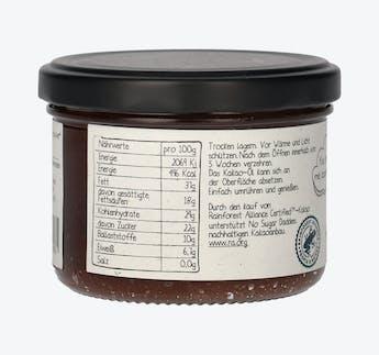 BIO Schokoladenaufstrich mit Kokos