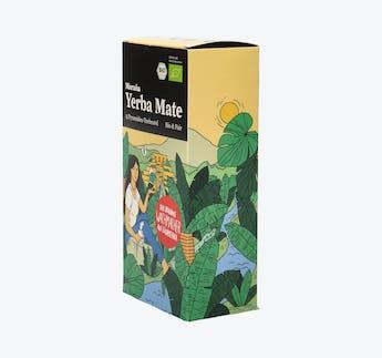 """BIO Yerba Mate Tee """"No. 01"""" im Pyramiden-Teebeutel"""