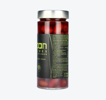 BIO schwarze Kalamon Oliven mit Kern