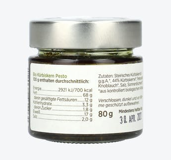 Bio Kürbiskern Pesto