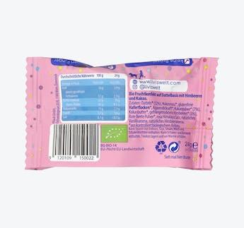 BIO Dattel Fruchtkonfekt Himbeere Kakao