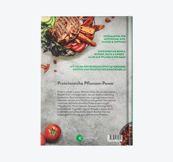 """Kochbuch """"Green Protein"""" von Rebekka Trunz"""