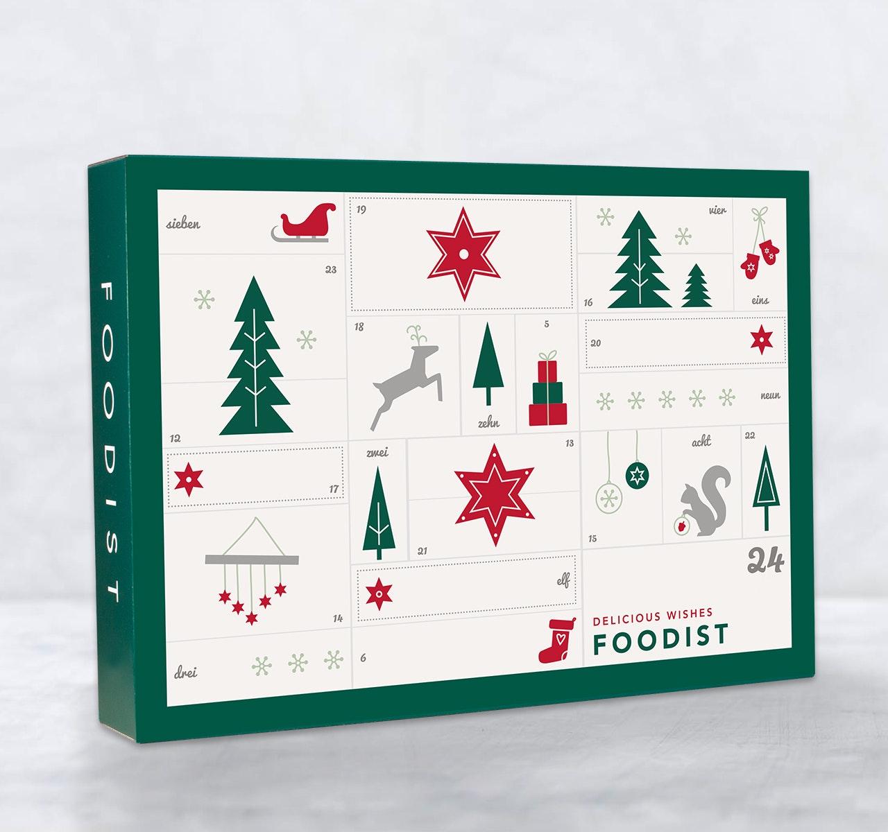 Gourmet Adventskalender 2018