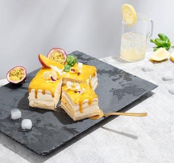 "My Cake Box ""Mango Layer Cake"""