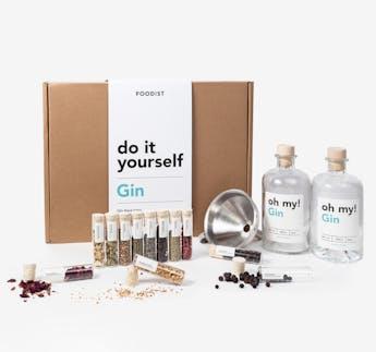 Gin Baukasten Set zum Selbermachen DIY Kit