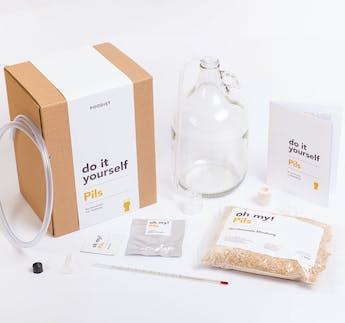 Bier-Braukasten-Set PILS zum Selbermachen DIY Kit