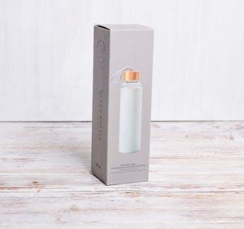 "Glastrinkflasche ""Manekineko"" grau, 500 ml"