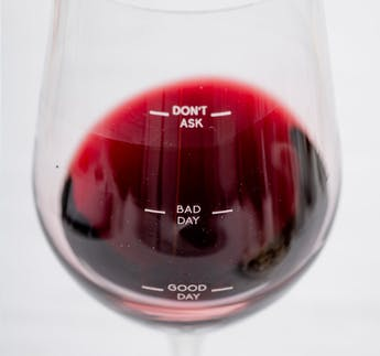 "Weinglas ""Glass of Moods"""