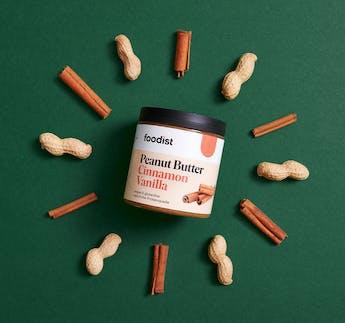 Erdnussbutter mit Zimt & Vanille