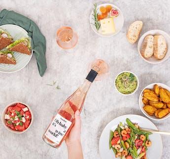 "Foodist Roséwein, ""Oh baby it's a wine world"""