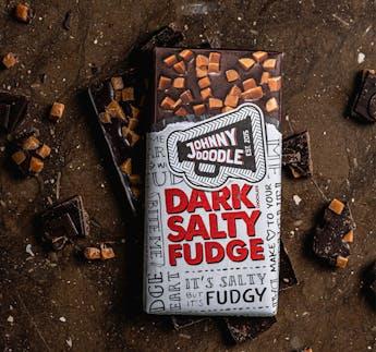 Dark Salty Fudge Schokolade