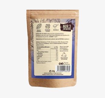 KakaoWUMMS - Gebrannte Kakaobohnen mit Meersalz