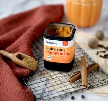 BIO Spice your Pumpkin Pie Gewürzmischung by Marry Kotter