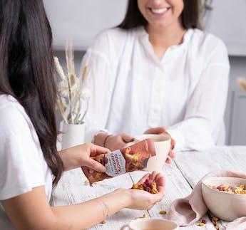 Crunchy Cranberry Snack Mix Maiskörner & Erdnüsse