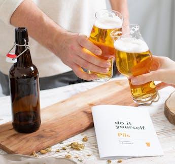 Nachfüllpaket für Bier-Braukasten-Set PILS zum Selbermachen DIY Kit