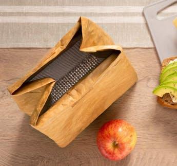 Lunchtüte, isoliert, 29 x 20 cm