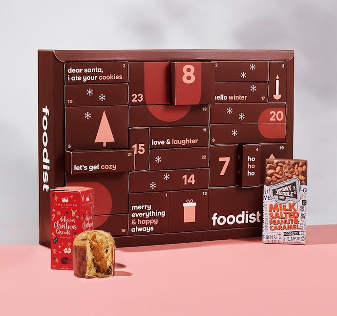 Foodist Gourmet Adventskalender 2021 - 24 süße und salzige Leckereien