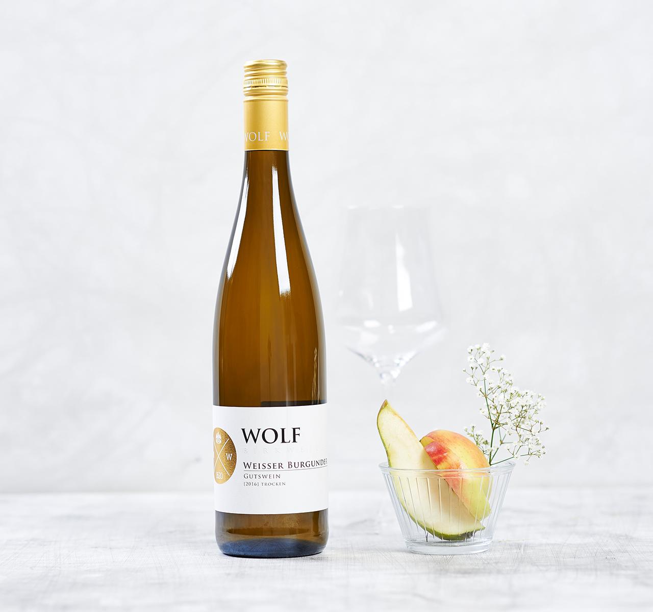 Weißer Burgunder von Weingut Klaus & Mathias Wolf kaufen   Foodist