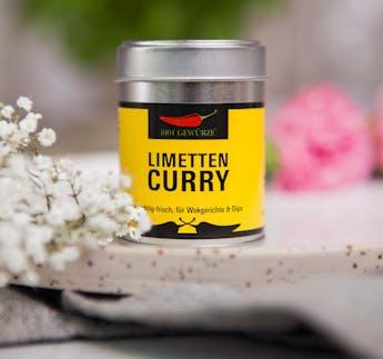 Gewürzmischung Limetten Curry