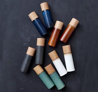 Salz- und Pfeffermühlen Set, blau, 2-teilig