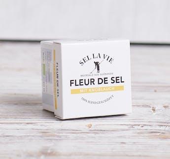 BIO Fleur de Sel mit Knoblauch