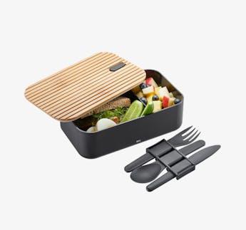 """Lunchbox """"Enviro"""" mit Besteck"""