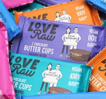 Hazelnut Butter Cups