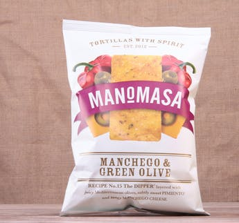 Tortillachips - Manchego & Green Olive
