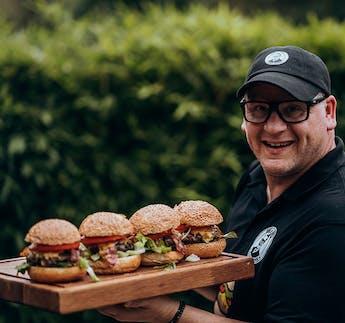 Silikonbackform für Burgerbrötchen