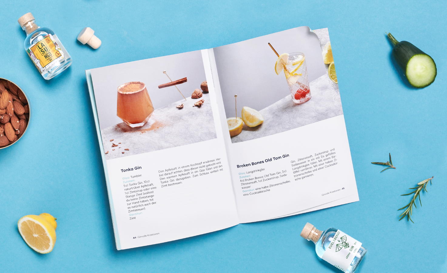 Booklet Gin Adventskalender