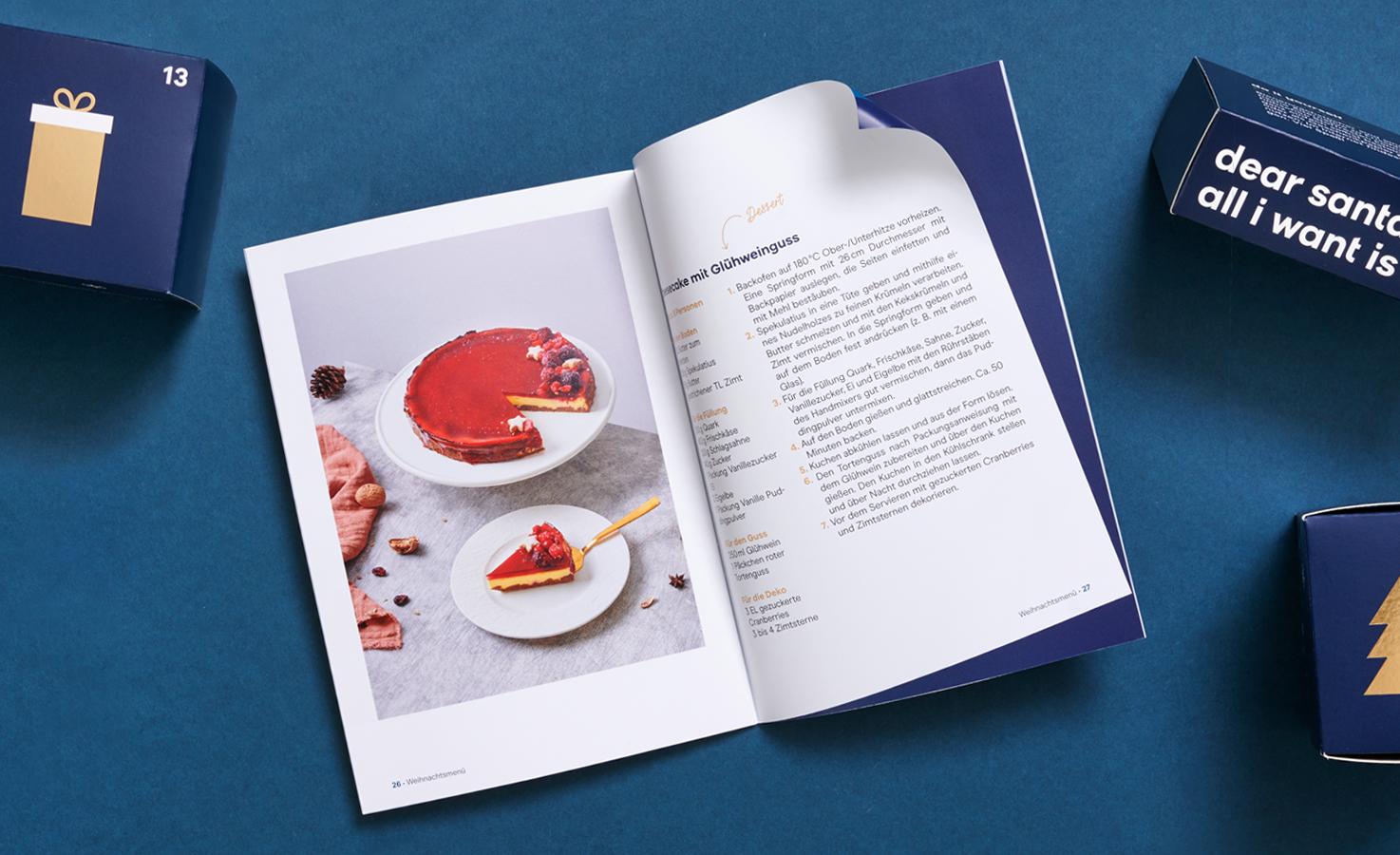 Booklet Premium Gourmet Adventskalender